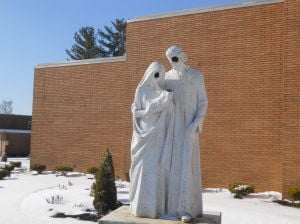 Vineland church statue