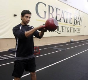 Your workout: Kettlebell Swing