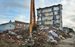Bellevue: Demolition of Bellevue Hotel in Ocean City as of Monday  - Ben Fogletto
