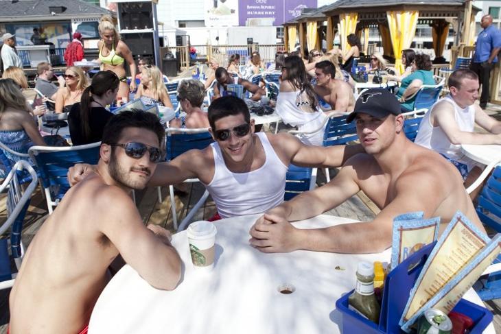 Trump Plaza Beach Bar