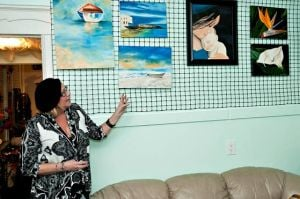 Margate woman hopes Ventnor gallery becomes haven of art for artists' sake