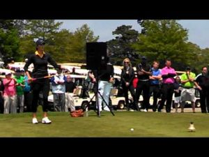 Michelle Wie at the Ron Jaworski Celebrity Golf Challenge