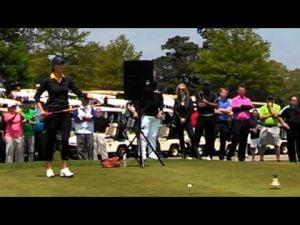 Michelle Wie at the Ron Jaworski Celebrity Golf Challenge