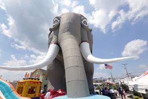 Lucy the Elephant's 135th Birthday Celebration
