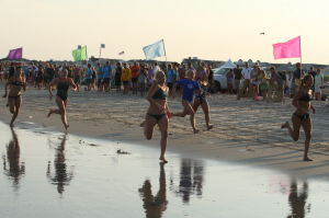 Women Lifeg: Ocean City Beach Patrol Women's Invitational Wednesday, July 24, 2013. - Edward Lea