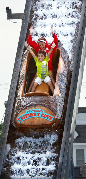 Park Rides: Saturday June 22 2013 Rides at Playland Castaway Cove in Ocean City. (The Press of Atlantic City / Ben Fogletto)  - Ben Fogletto