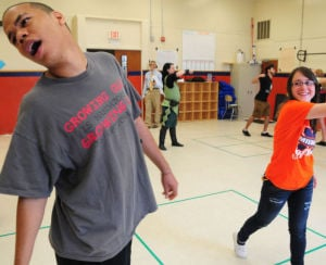 Millville High School students learn about Shakespeare's world