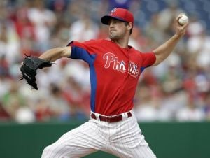 Hamels excited about first opening-day start for Phils
