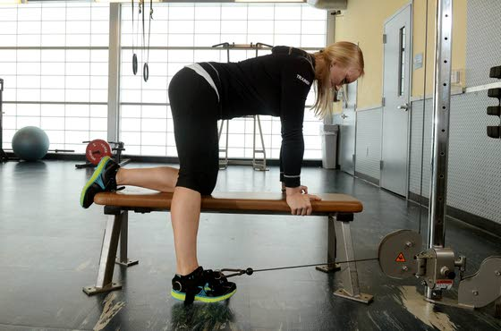 Your Workout: Straight-leg cable raise