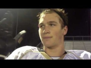 Southern's Mike Gesicki after South Jersey semifinal win