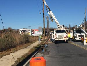 South Shore Road in Absecon closed