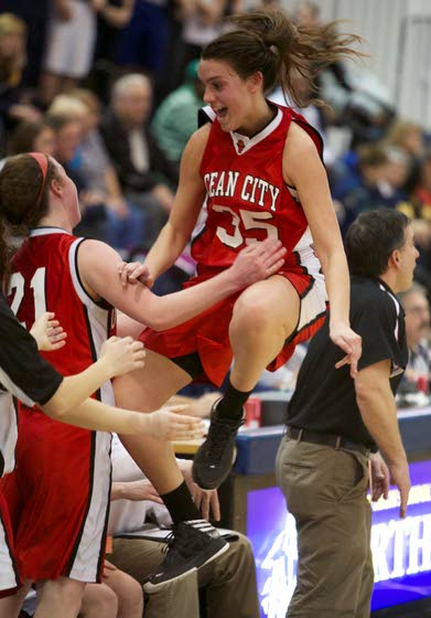 Red Raiders finally 'on top of the world' in girls basketball