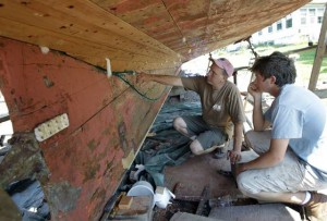Shipwright building on past  to preserve maritime future