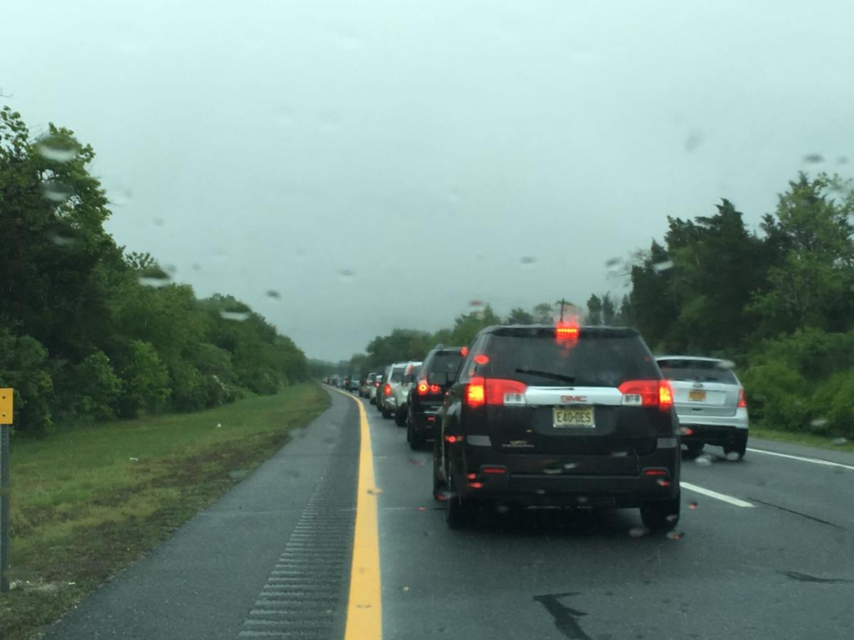 Friday traffic updates traffic Traffic on the garden state parkway