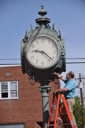 Time has come to renovate historic Hammonton clock