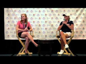 Stacy Lewis Winner's Press Conference from the 2012 ShopRite LPGA Classic