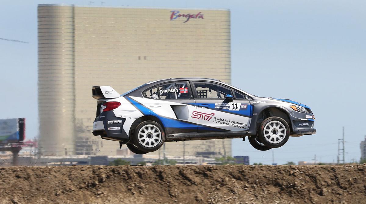rallycross ridalong