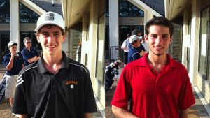 Garden State Cup: Middle Township's David Hicks, left, and Ocean City's Dom DiGiacomo