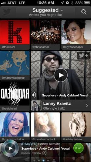 Tech review: Twitter music service uncovers the unknown