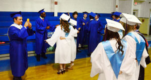 SACRED HEART GRADUATION: Monday June 3 2013 Sacred Heart High School Graduation. (The Press of Atlantic City / Ben Fogletto)  - Ben Fogletto