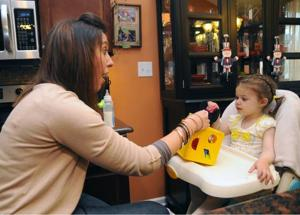 Northfield family organizes fundraisers to buy service dog for toddler with PMG