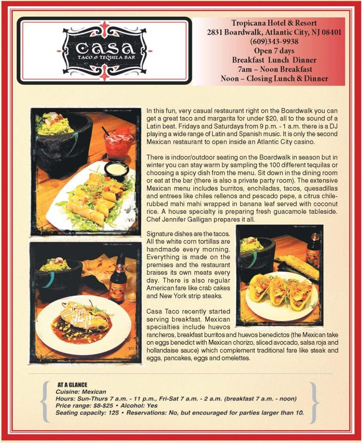 Casa Taco Atlantic City Nj