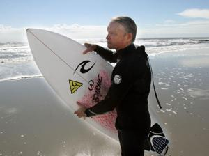 Surfer Tom O Brien
