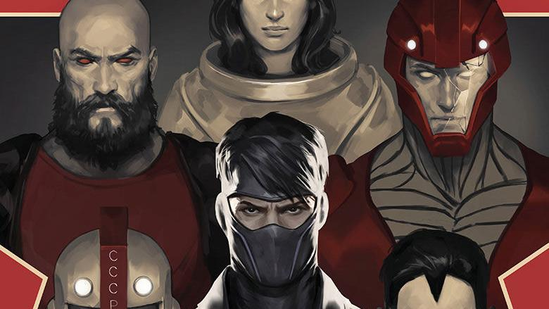 Preview art of Valiant's Divinity III Stalinverse #3, out Wednesday