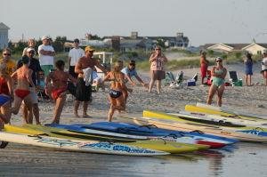 Ocean City Beach Patrol Women's Invitational: Ocean City Beach Patrol Women's Invitational Wednesday, July 24, 2013. - Edward Lea