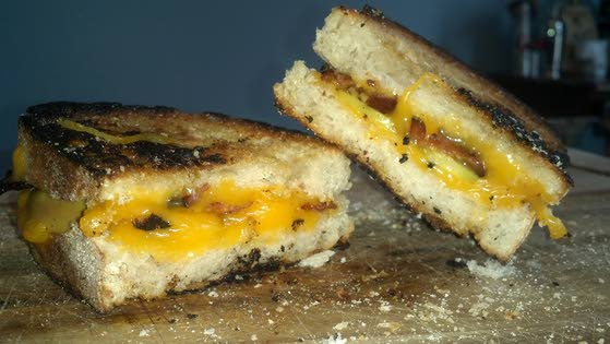 Farmhouse cheddar on sourdough