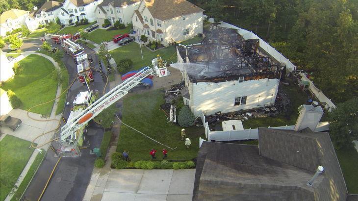 Hamilton Township fire 2