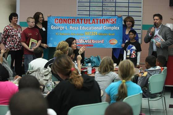Hess school wins challenge; has some of nation's top readers