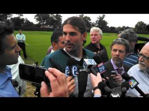 Riley Cooper talks about scuffle with Cary Williams