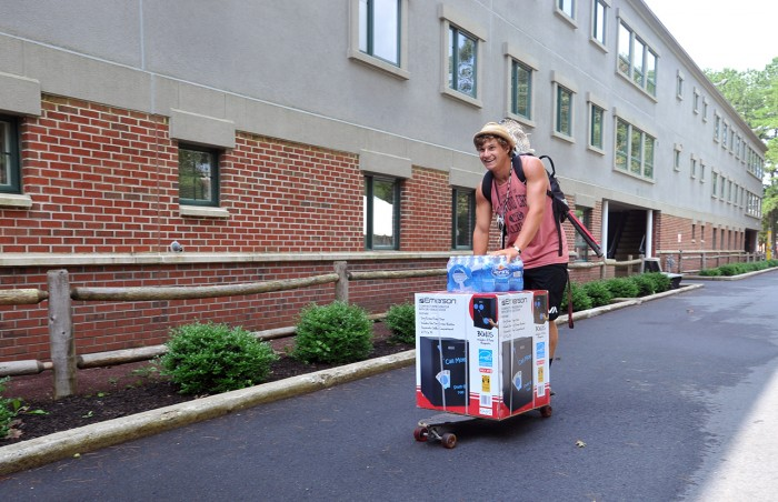Stockton move-in day
