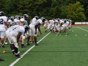 EHT football practice