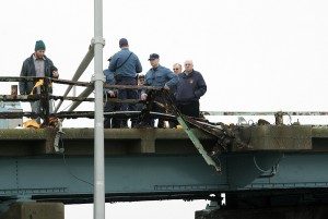 CAR OFF BRIDGE