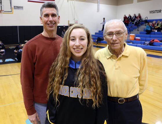 Basketball holds Lauren Holden's family together