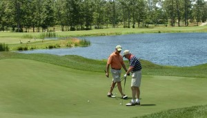 Shore Gate Golf Club in Ocean View offers an undulating feel uncommon to the region's courses