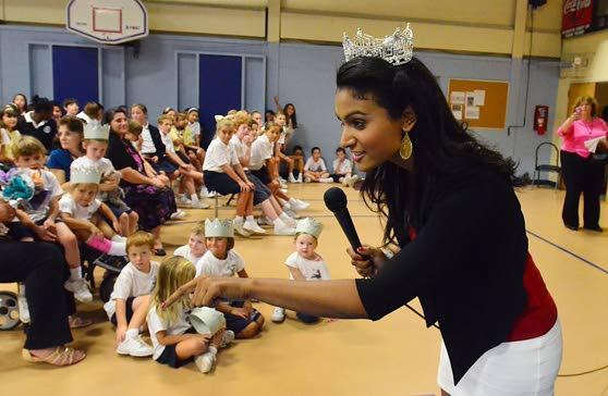 Miss America explains diversity to Somers Point schoolchildren
