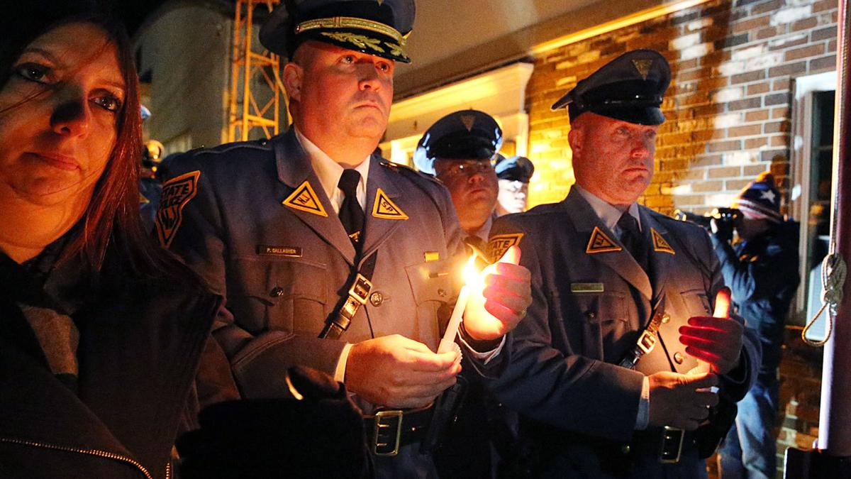 Vigil for NJ State Trooper Frankie Williams
