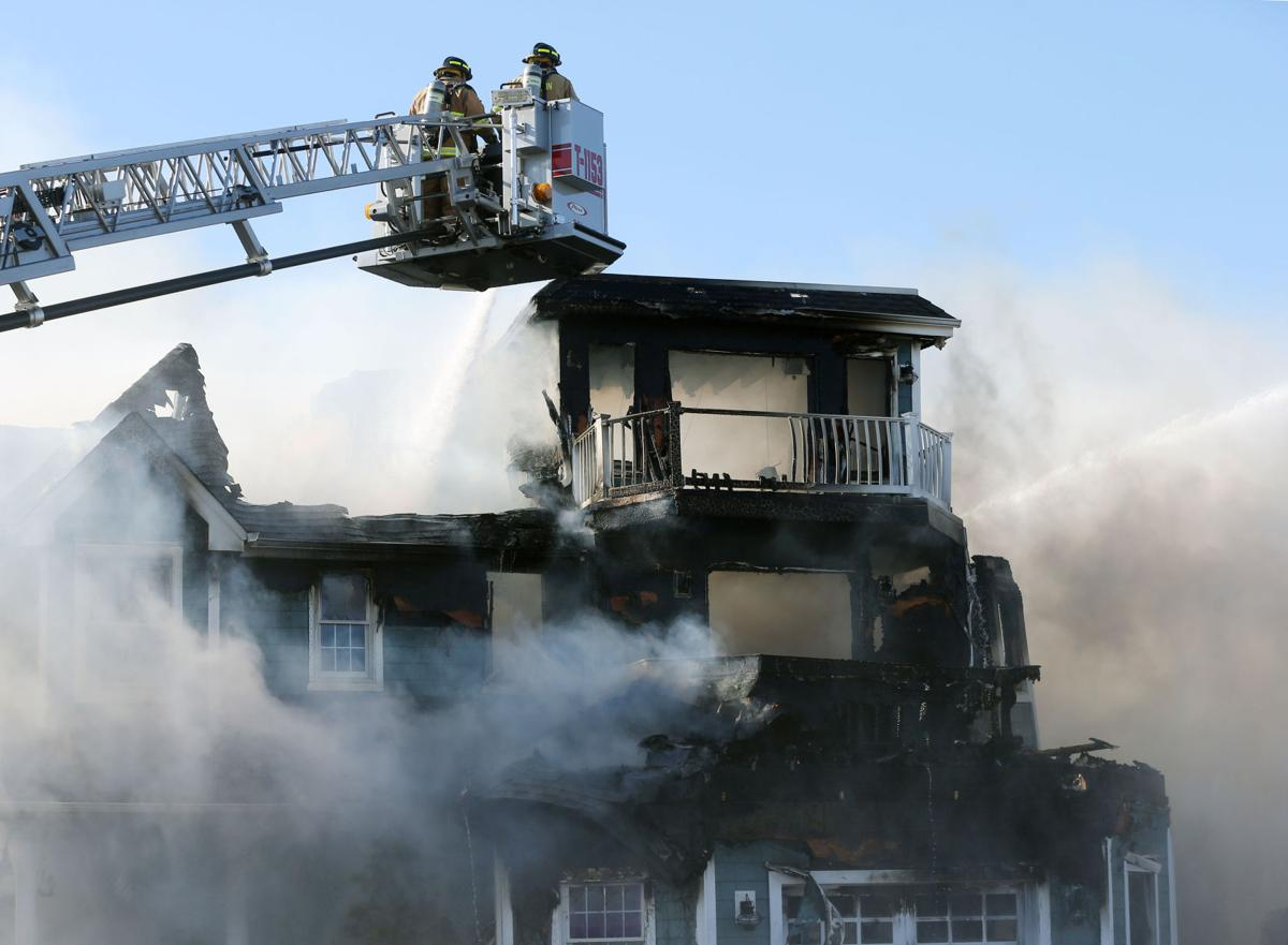 Fire destroys two multi-million-dollar homes in Avalon