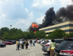 Tech Center Fire