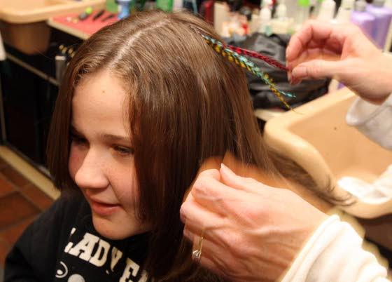 business hair sense salon harbor township