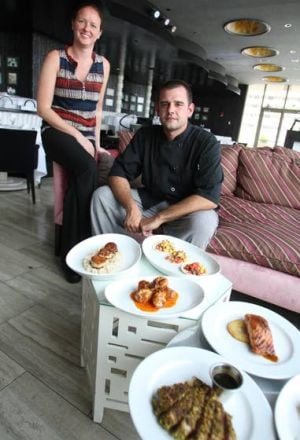 Chelsea Debuts More Casual Dining On The Fifth: Chef Matthew Frey and Megan McNulty, food & beverage director at The Chelsea-Dining on the Fifth Floor in Atlantic City.