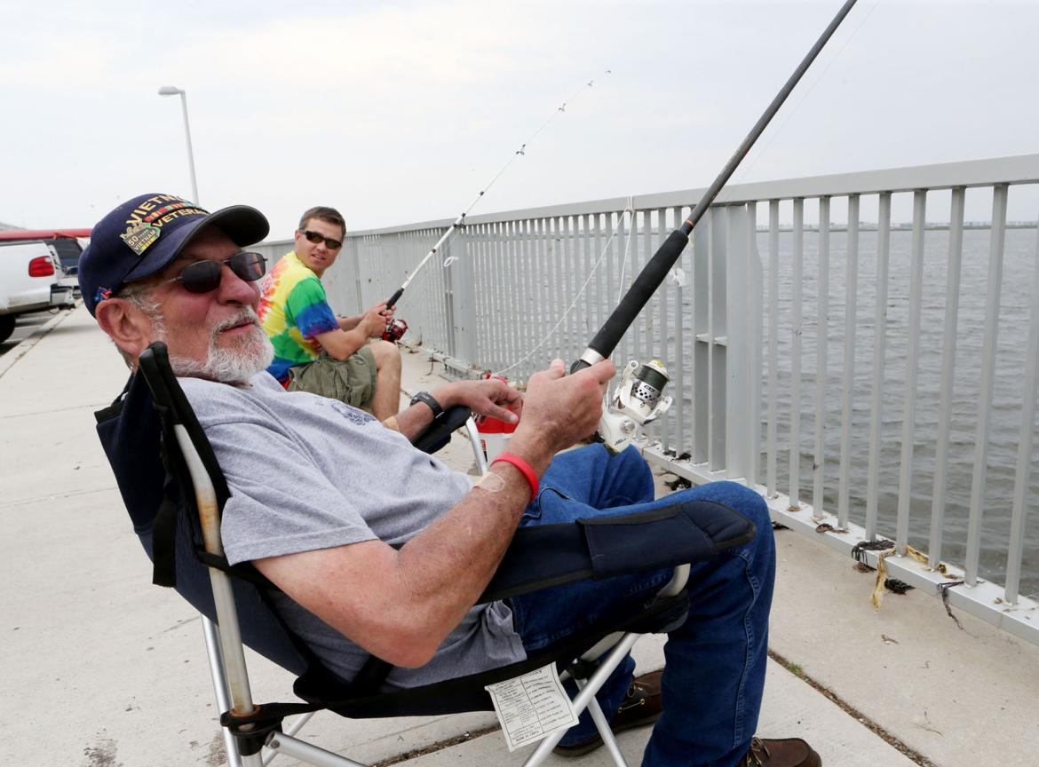 Pier and bridge access help more people fish and crab for Atlantic city fishing pier