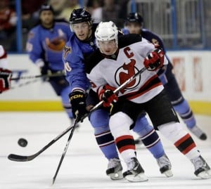 Devils deny they're rebuilding after trading captain Jamie Langenbrunner for draft pick