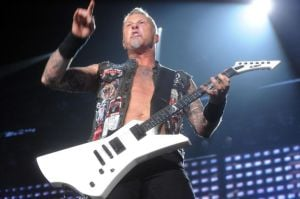 Hetfield: Metallica lead singer James Hetfield  - Danny Drake