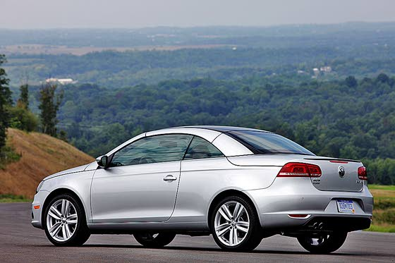 VW Convertible Coupe Extensively Revamped: 2012 Eos