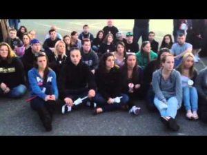 Vigil for Matthew Uhl