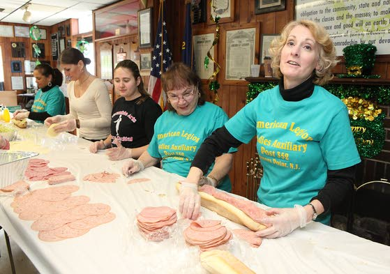 American Legion Auxiliary sells subs for dough